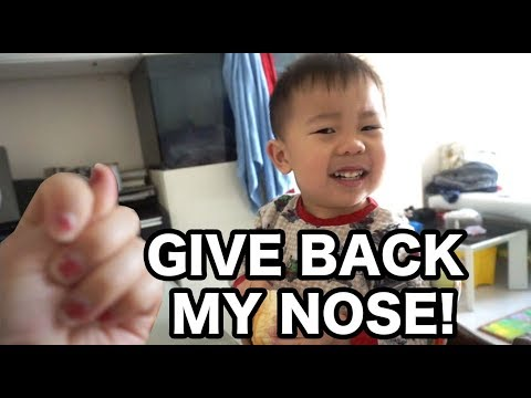 GIVE BACK MY NOSE!