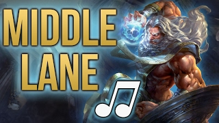 Smite Song - Middle Lane (The Cardigans - My Favourite Game PARODY) ♪