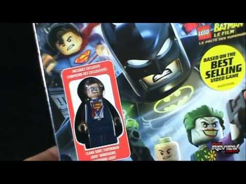 Unboxing of the New Lego Batman the Movie DC Super Heroes Unite