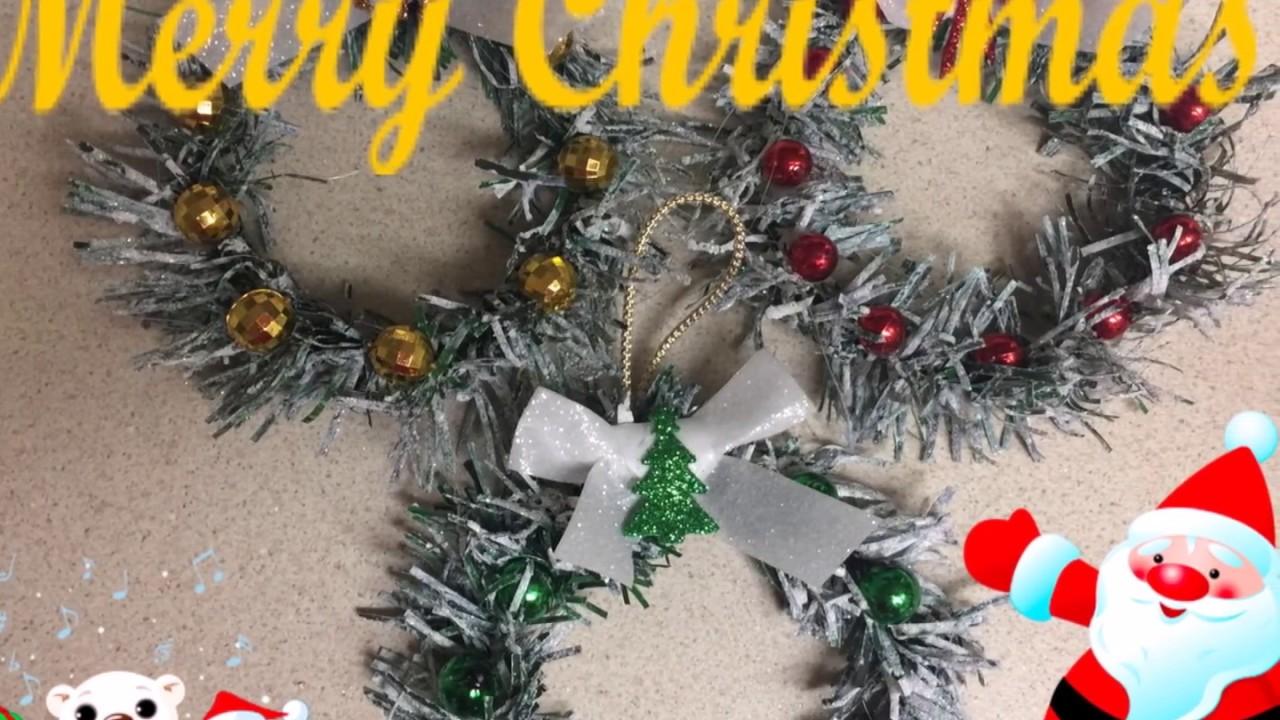 Manualidades navide a de coronita para el arbol de navidad - Manualidades navidad 2017 ...