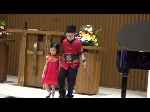 Ku Mau Cinta Yesus (Mandarin & Indonesia) - Naomi Soesito (4 th) & Josh Soesito (9 th)