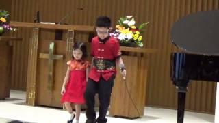 Ku Mau Cinta Yesus (Mandarin & Indonesia) - Naomi (4 th) & Josh Soesito (9 th)