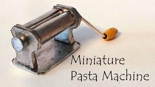 Miniature Pasta Machine / 'Clay Roller' Tutorial