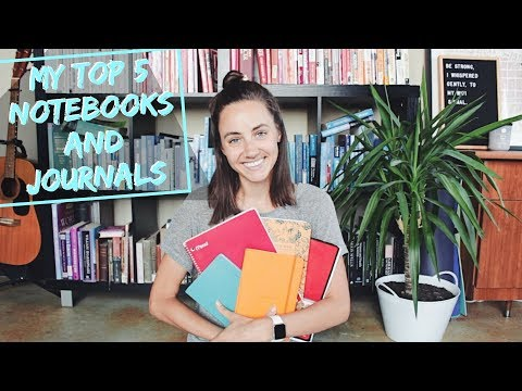 My 5 Favorite Notebooks + Journals   How I Use Them