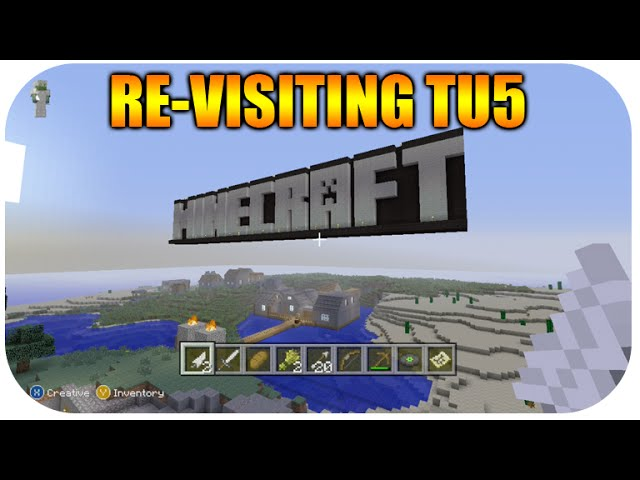 ☆Minecraft Xbox 360 + PS3 Re-Visiting Title Update 5 OLD Tutorial
