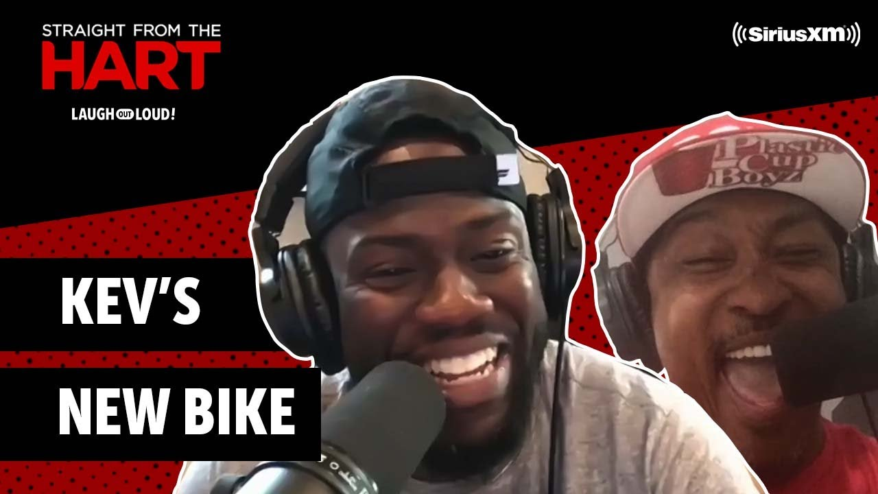 Kevin's New Bike | Straight from the Hart | Laugh Out Loud Network
