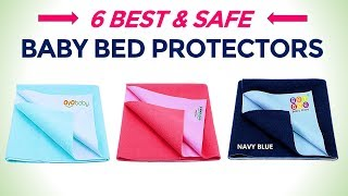 6 Best Baby Bed Protectors in India with Price | Dry & Breathable Mattress Protector Mat