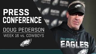 Doug Pederson Discusses the Eagles' Crucial Win Over Dallas | Eagles Press Conference