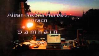 Tag 93: ANH spricht S a m h a i n (2006).  Aus: Der Engel Ordnungen, Gedichte (2007).