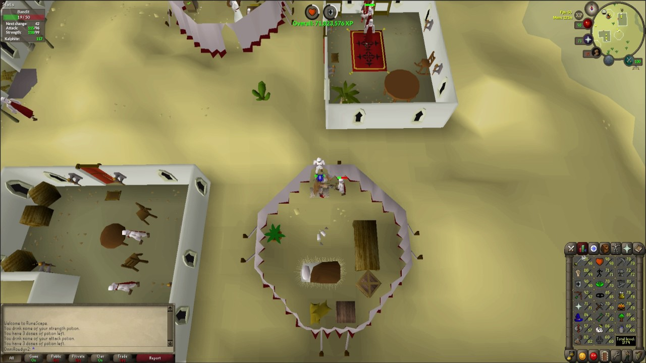 Osrs Afk Bandit Combat Guide 55k-70k xp an hour