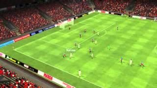 Hiszpania vs Liechtenstein - Gol Torresa 55 minuta