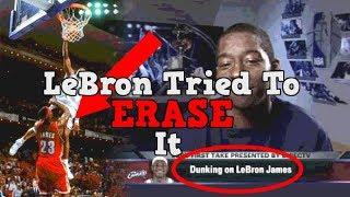 LeBron James Tried Erasing This SECRET Footage