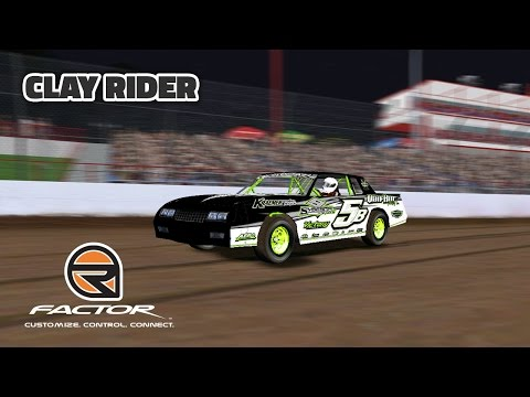 rFactor: Clay Rider (DWD Super Stocks @ Lucas Oil Speedway)