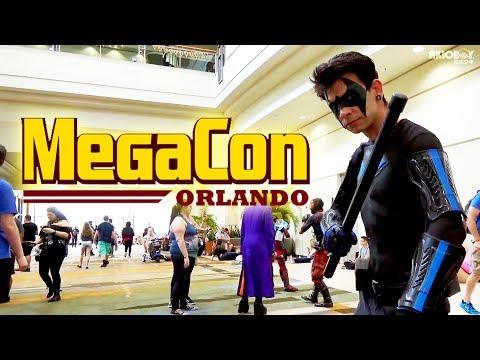 """MegaCon: 2018"""