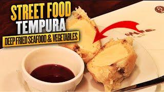 Tempura (deep Fried Seafood & Vegetables)