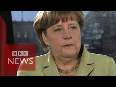 "Angela Merkel: ""Europe must stick together"" - BBC News"