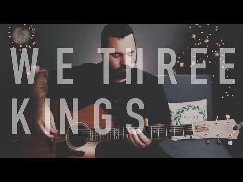 We Three Kings (Live Christmas Guitar Tutorial)
