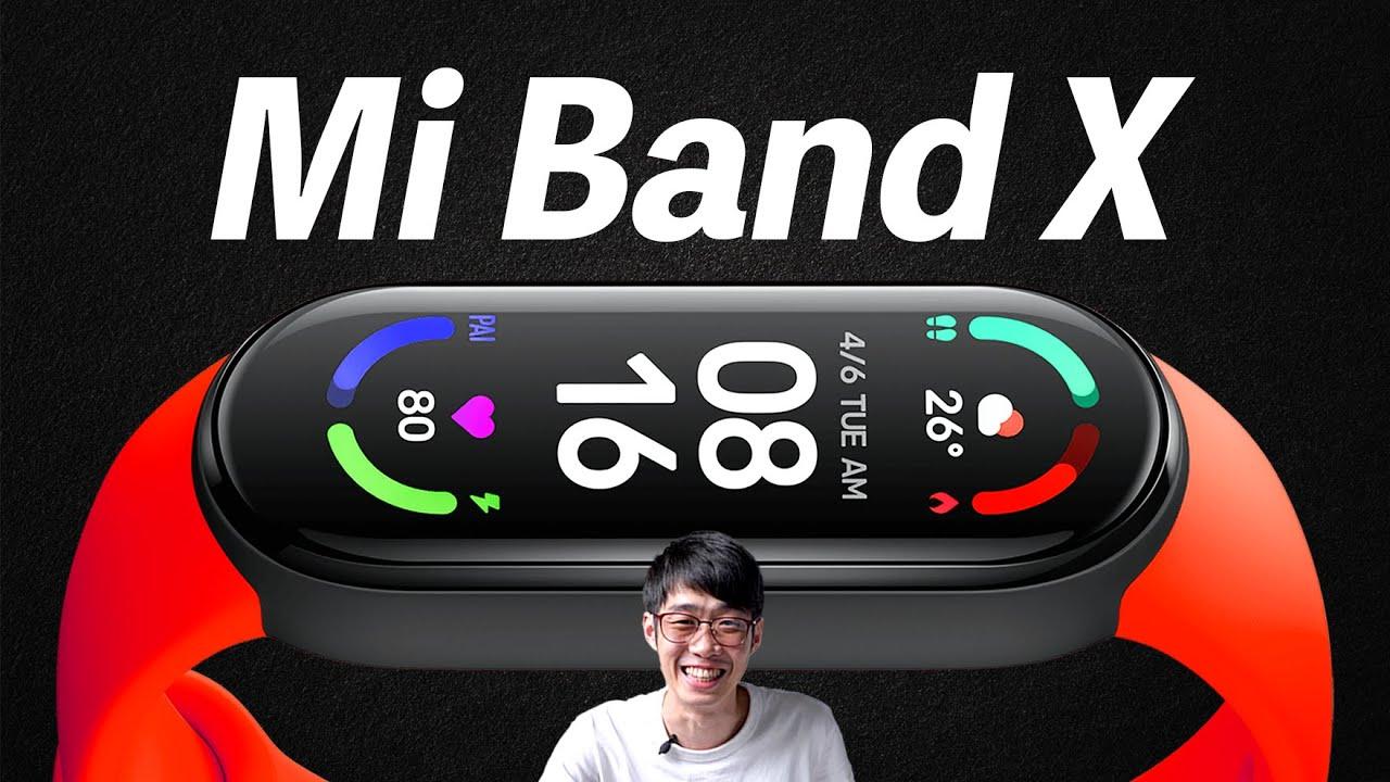【速報】Xiaomi Mi band Xがリーク...!!その驚愕のコンセプトとは!?
