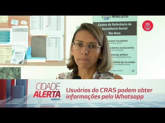 Usuários do CRAS podem obter informações pelo Whatsapp