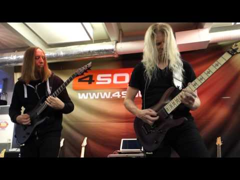 Jeff loomis and Keith Merrow - guitar clinic - Conquering Dystopia ( Arch Enemy, ex Nevermore ) 2017