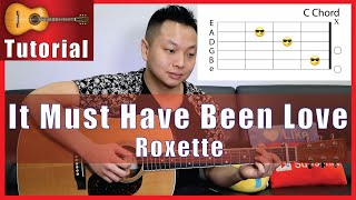 """It Must Have Been Love"" Guitar Tutorial - Roxette 