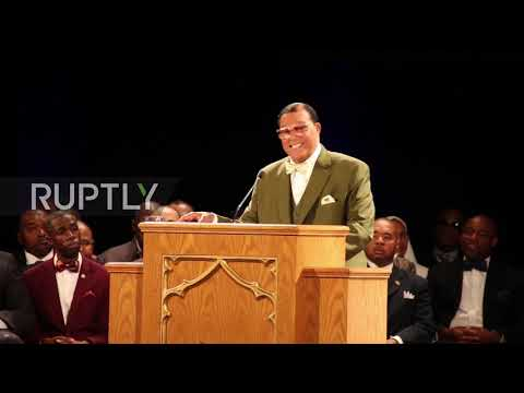 USA: Nation of Islam leader calls for 'black only' state