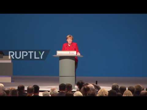 Germany: World must review relations with NATO and Russia - Merkel at CDU congress