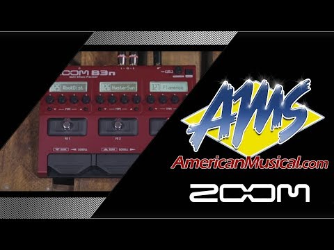 Zoom B3n Patches Demo - American Musical Supply