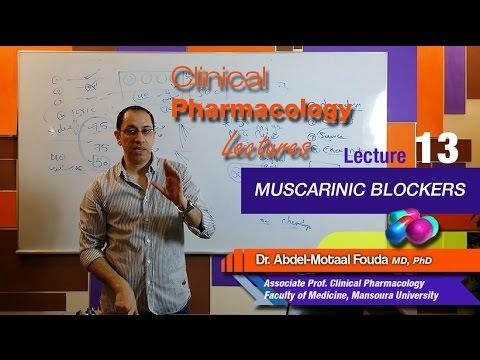 Autonomic Pharmacology - Lec 13 - Muscarinic blockers