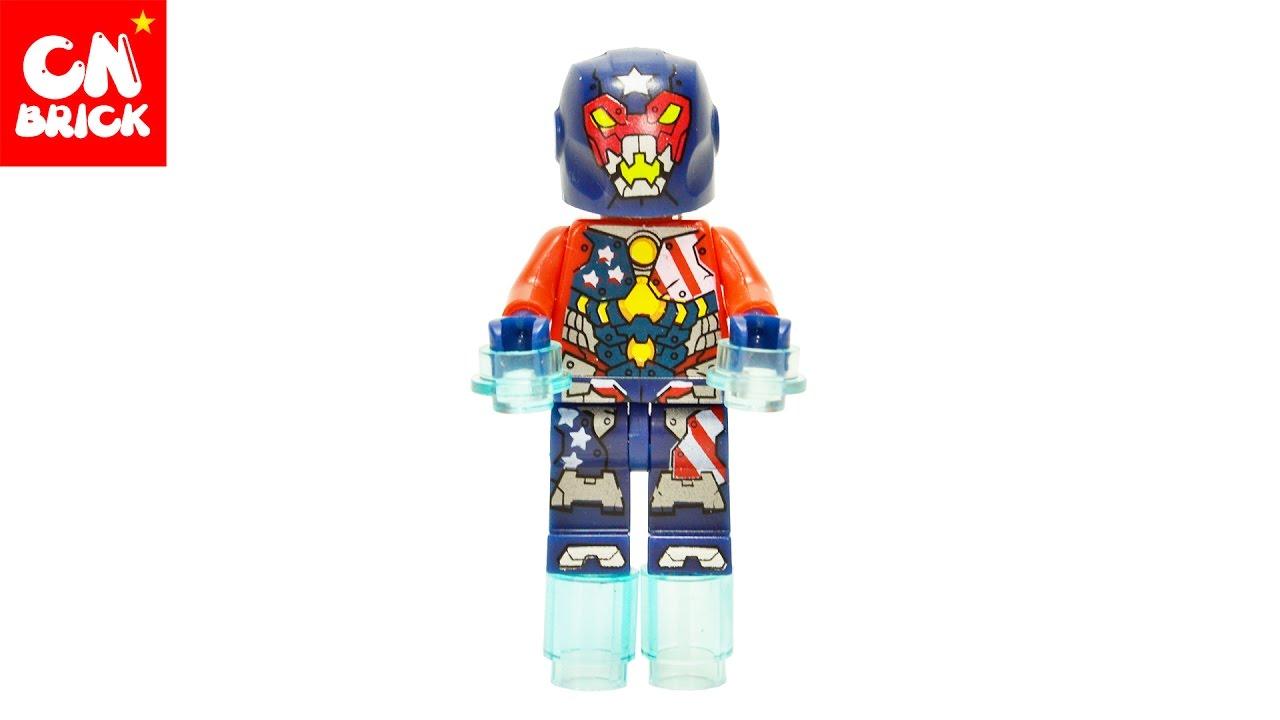 NEW LEGO JUSTIN HAMMER MINIFIG figure minifigure 76077 marvel super heroes