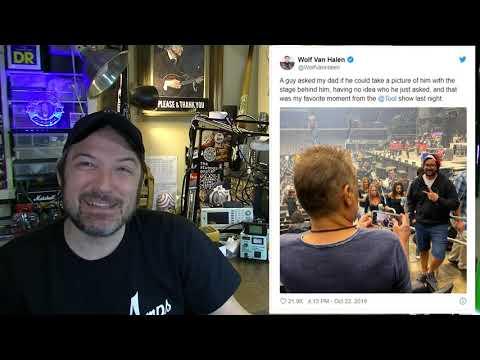 Eddie Van Halen is Both a SCIENTIST and a Photographer...so Y'all Can Suck My Pick! - SPF BONUS
