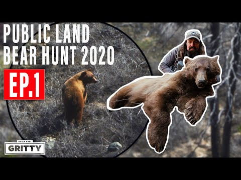 HIGH MOUNTAIN BLACK BEAR HUNT | PUBLIC LAND E1