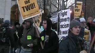 New York, MTA Strike, December 2005, Part 1