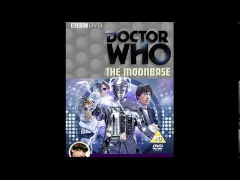 Doctor Who The Moonbase DVD Offical cover