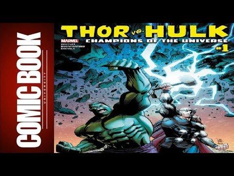 Thor vs. Hulk – Champions of the Universe #1 | COMIC BOOK UNIVERSITY