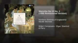 Mazurka Op.10 No. 1 (1996 Remastered Version)