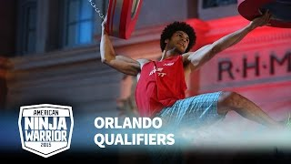 Jon Alexis Jr. at 2015 Orlando Qualifiers | American Ninja Warrior