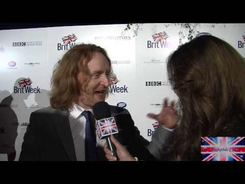 Tony Curran, Doctor Who's Van Gogh chats about Doctor Who, Britweek 2014
