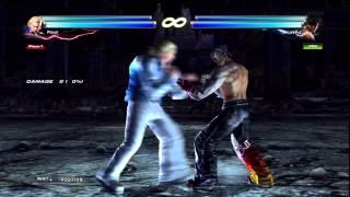 TTT2 Tekken Tag 2 Steve/Hwoarang Staple Combos