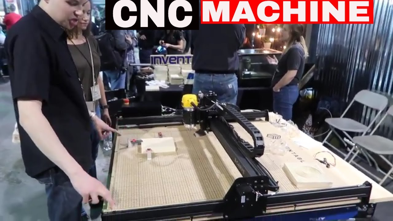 X-CARVE from INVENTABLES CNC- TOOL REVIEW TUESDAY! - YouTube