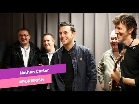 Nathan Carter Sings Caledonia - Backstage At The Imelda May Show.