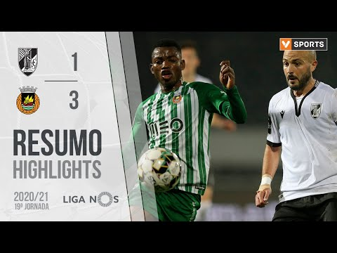 Guimaraes Rio Ave Goals And Highlights