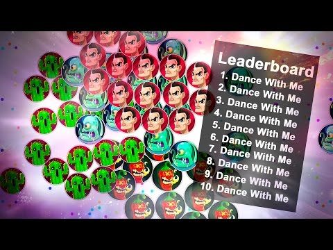 '' DANCE WITH ME '' - AGAR.IO EPIC LEADERBOARD & EVERYBODY DANCE
