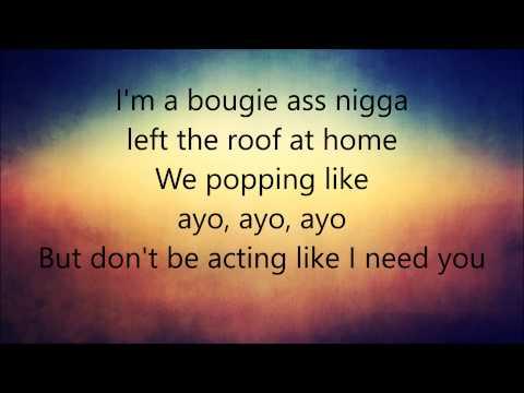Chris brown  Ayo feat Tyga Lyrics