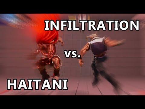 SFV - Infiltration (Nash) vs. Haitani (Necalli)