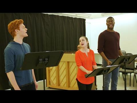Nicholas Barasch, Kyle Scatliffe, and Lauren Worsham Preview Encores! Big River
