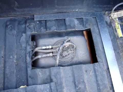 P0087 GMC and CHEVY truck easy fuel pump fix - make a hatch - YouTube