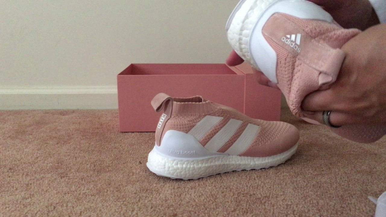 0f4025fd7a78f ... good up for grabs unboxing kith x adidas ace 16 ultraboost pink  flamingo 4b714 318fc
