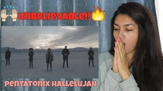 [OFFICIAL VIDEO] Hallelujah - Pentatonix | REACTION