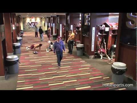 Virginia Tech Football Harlem Shake